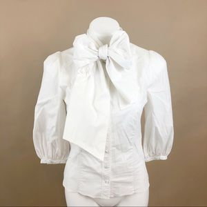 Ted Baker Tie Neck Button Up Blouse 2
